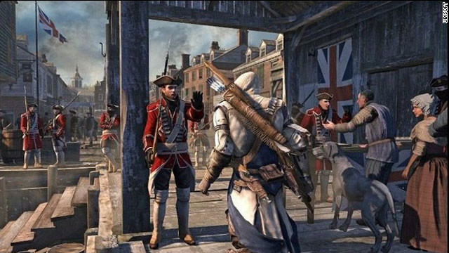 Ubisoft is focusing on the American Revolution in its latest action adventure, Assassin's Creed III.