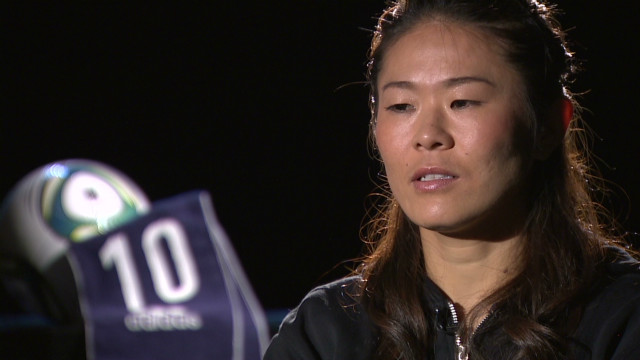 Homare Sawa; Japan's best female player