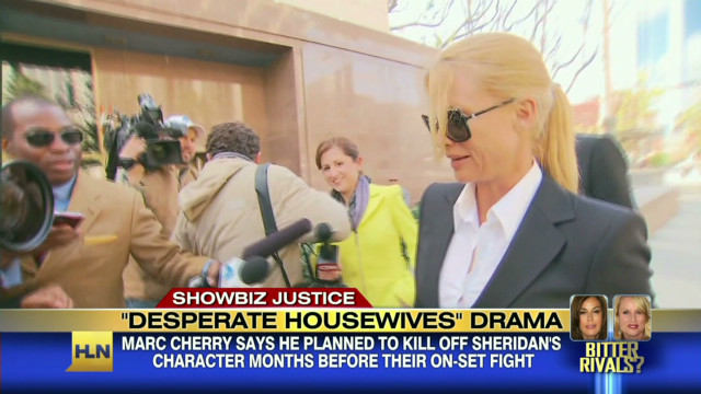 Feuding on 'Desperate Housewives' set