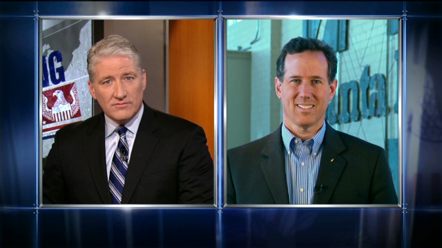 Santorum: Economic news not good enough