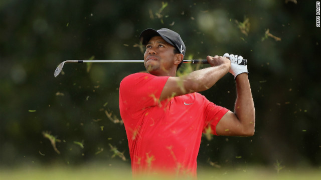 Tiger Woods withdraws from event