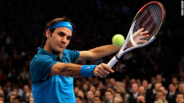 Switzerland's 16-time grand slam winner Roger Federer won the event three years in a row between 2004 and 2006.