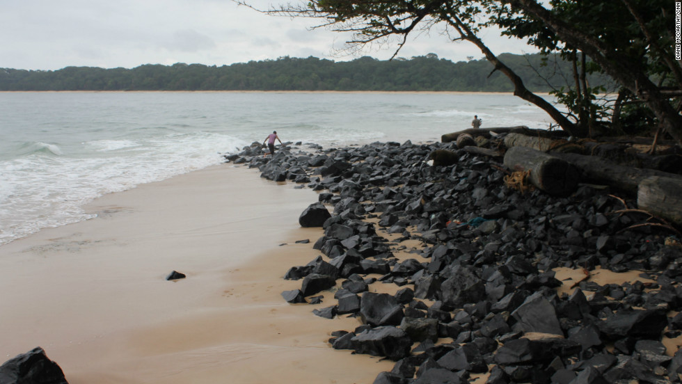 Gabon is one of the few countries in the world where the rainforest meets the coastline.