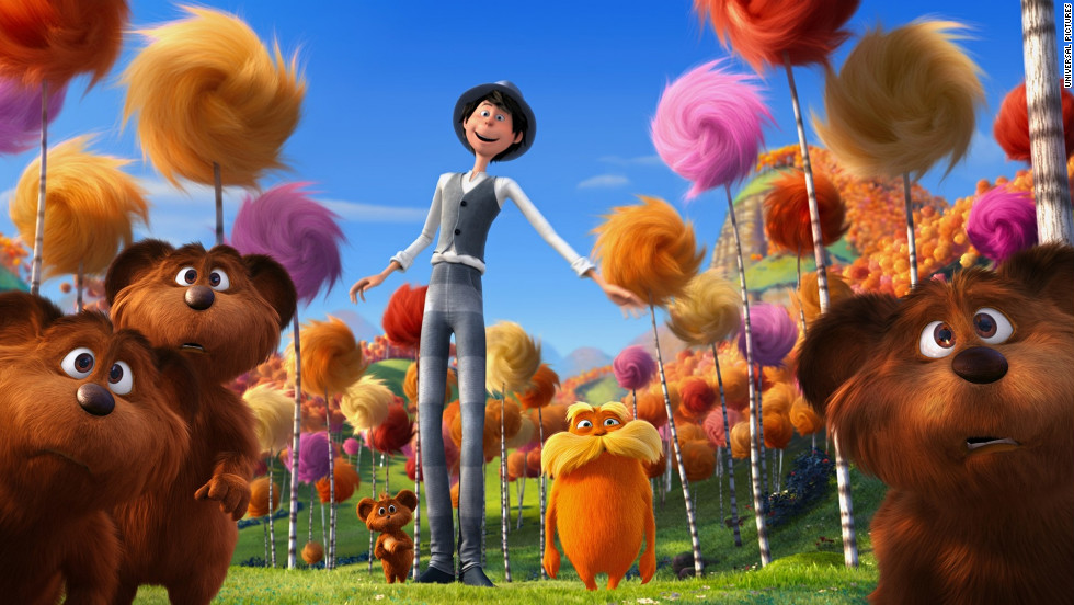 "Based on the 1971 Dr. Seuss classic, ""The Lorax,"" the movie version was the No. 1 movie in the country for the past two weekends."