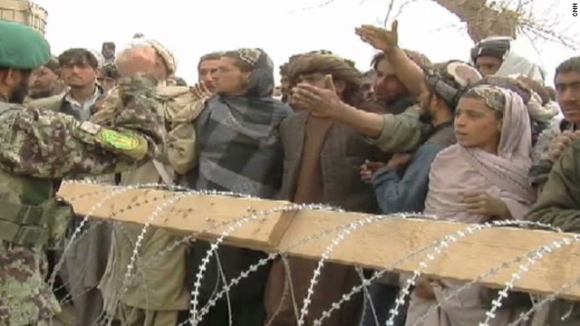 Afghans outraged after killing spree