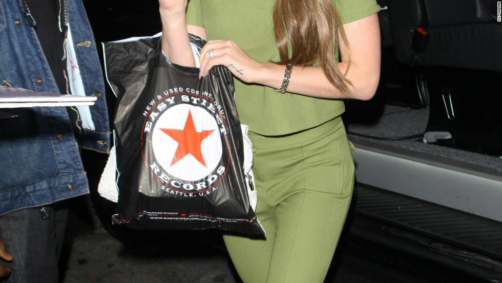 Lana Del Rey roams around Hollywood.