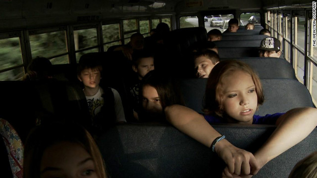 "A still from the documentary, ""Bully."""