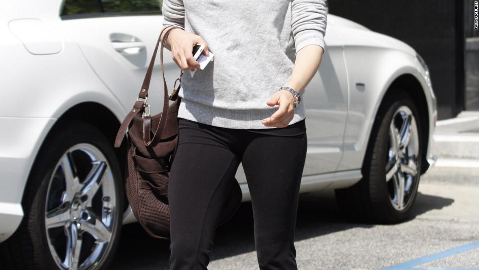 Selma Blair runs errands in Beverly Hills.