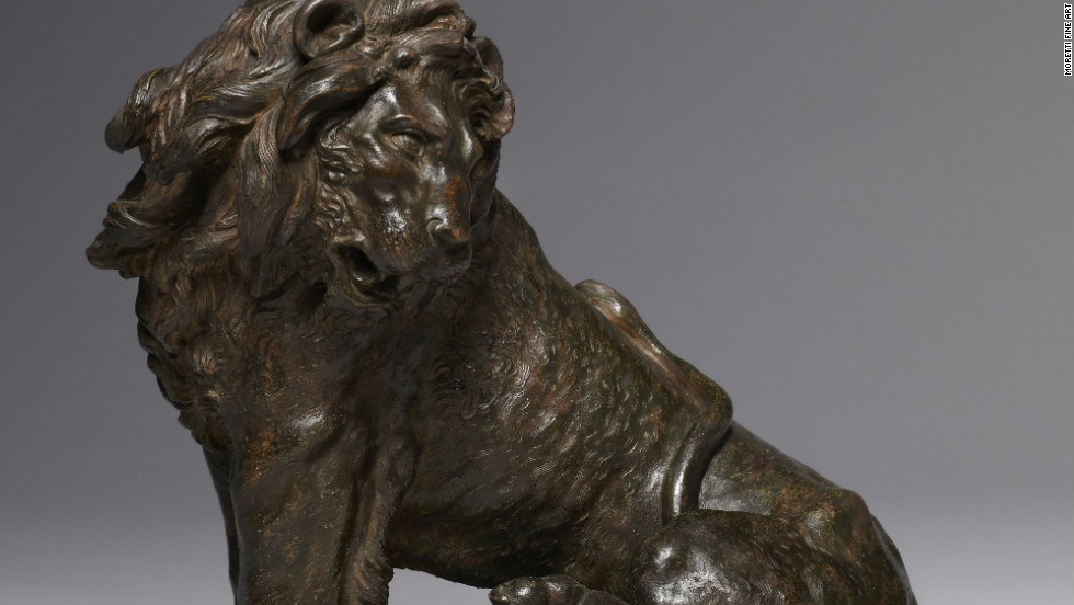 The European Fine Art Fair in Mastricht is one of the highlights of the art world calendar, where collectors can browse an array of fine art objects spanning 7,000 years. This terraccotta lion by Florentine artist Giovan Battista Foggini dates from 1715 and is thought to have been the model for a commemorative monument to Queen Anne of England.