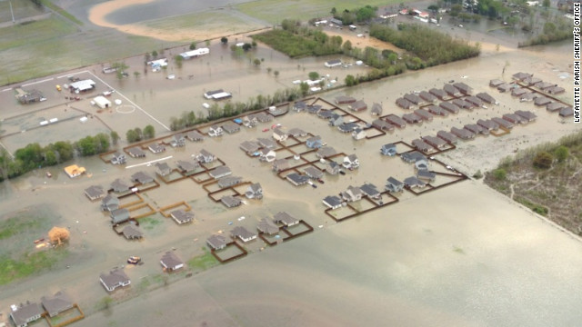 From One Extreme To Another: California On Fire to Lousiana Historic Flooding 120313065814-lafayette-parish-flooding-story-top