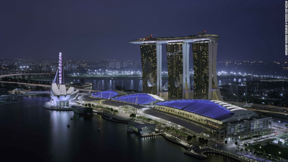 With 2,560 rooms and more than 10,000 staff, the $5.5 billion Marina Bay Sands has become Singapore's most famous landmark since opening in 2010 thanks to the boat-shaped rooftop that connects its three towers and dominates the skyline. Already home to several celebrity chef restaurants, the Beckham brand will be right at home here.
