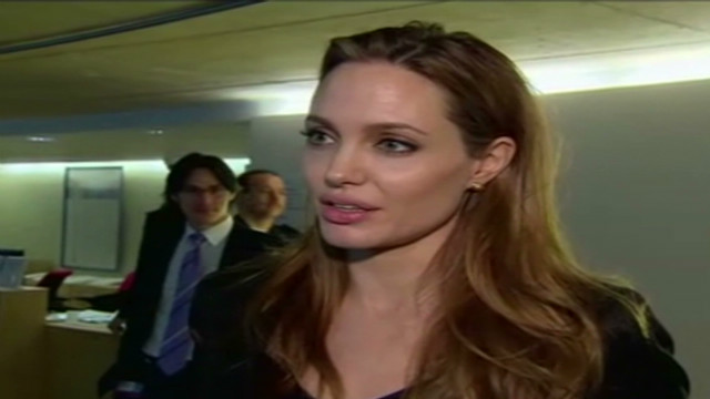 Angelina Jolie welcomes warlord verdict