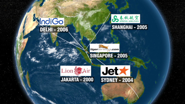 Asia's long-haul airlines