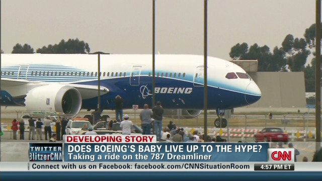 Go inside Boeing's new 787 Dreamliner
