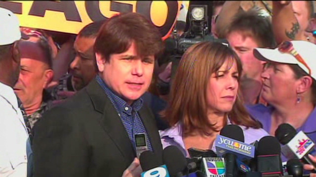 Blago says 'bye' before going to prison