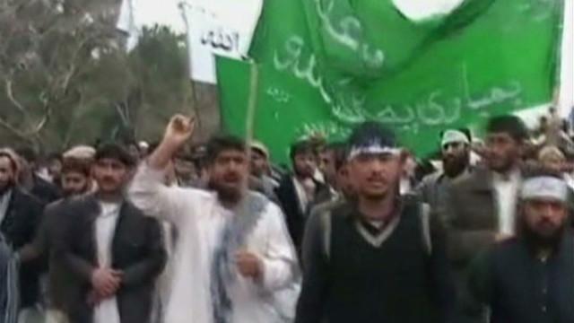 Protests, gunfire after Afghan slaughter