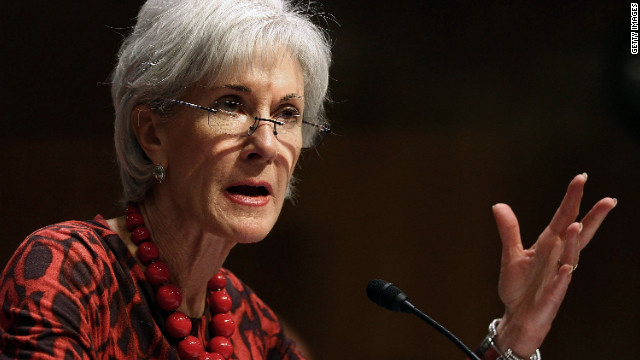 Health and Human Services Secretary Kathleen Sebelius told students that bullying is not acceptable.