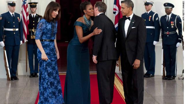 Obama hosts state dinner for Cameron