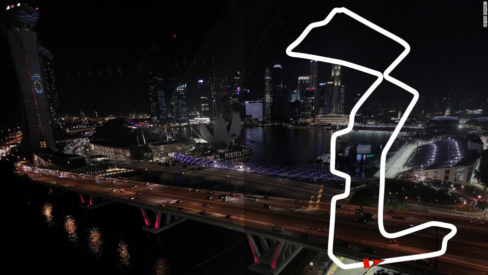 <strong>Singapore Grand Prix:</strong> September 23, Singapore  <strong>2012 champion:</strong> Sebastian Vettel, Red Bull