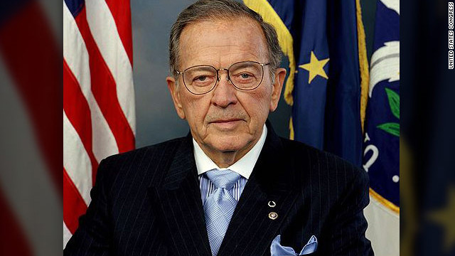 The case against former Alaska Sen. Ted Stevens was thrown out in 2009. He died in a plane crash in 2010.