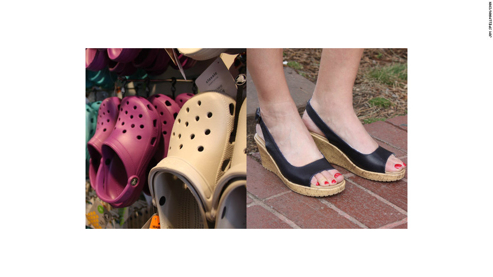 Colorado-based Crocs had to reinvent itself after suffering a $200 million loss in 2008.  Now, the company is creating more than just its signature plastic clogs.