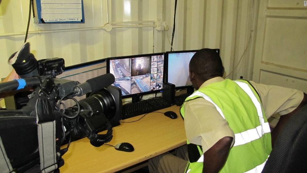 The diamond mines in Marange are kept under tight security to avoid theft.