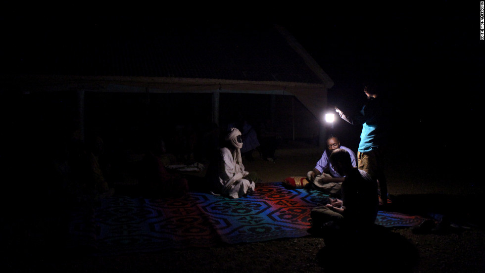 CNN traveled to Mauritania in December; foreign journalists aren't allowed to talk about slavery, and the reporters had to conduct many interviews at night and in secret.