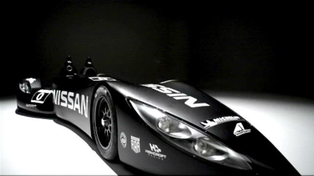 Nissan unveil 'Batmobile'