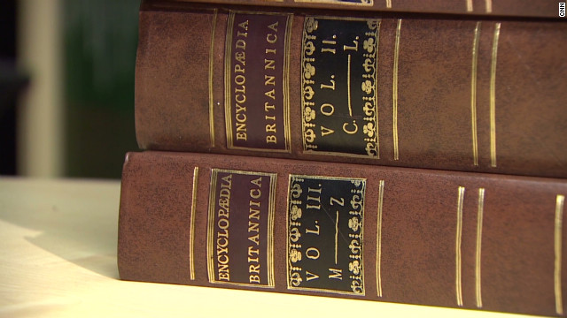 The history of Encyclopedia Britannica