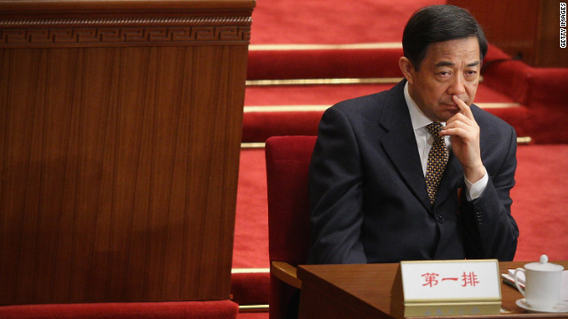 Bo Xilai attends the opening ceremony of the National People's Congress (NPC) on March 5, 2012 in Beijing.