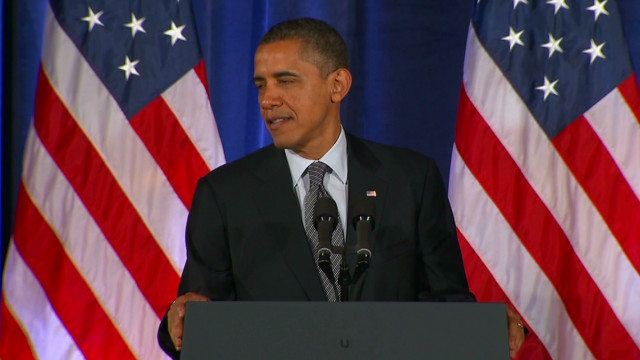 Obama jabs GOP candidates in Chicago