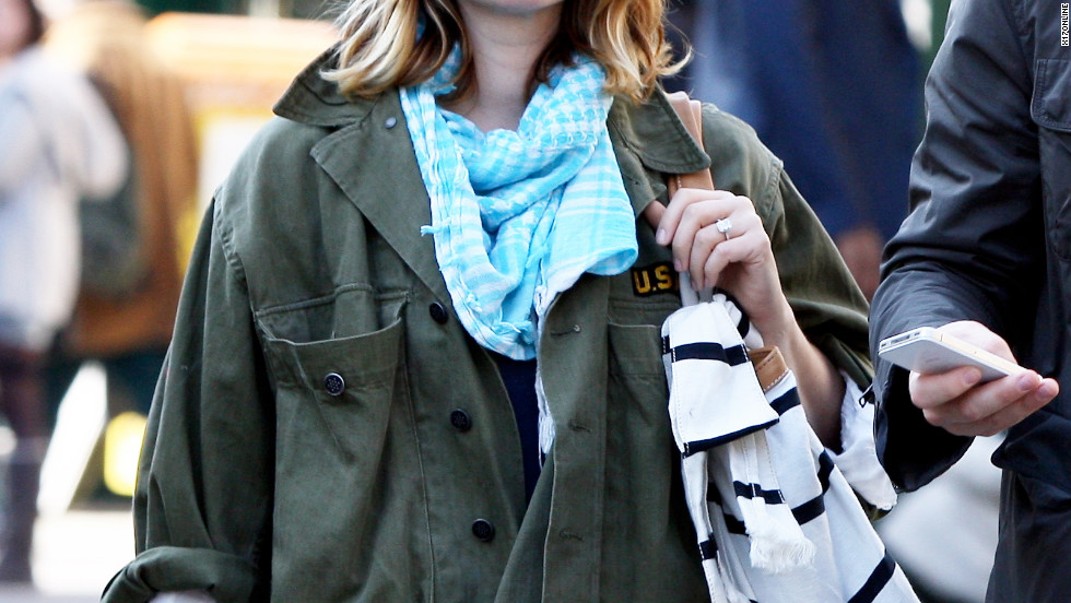 Drew Barrymore goes shopping in Paris.