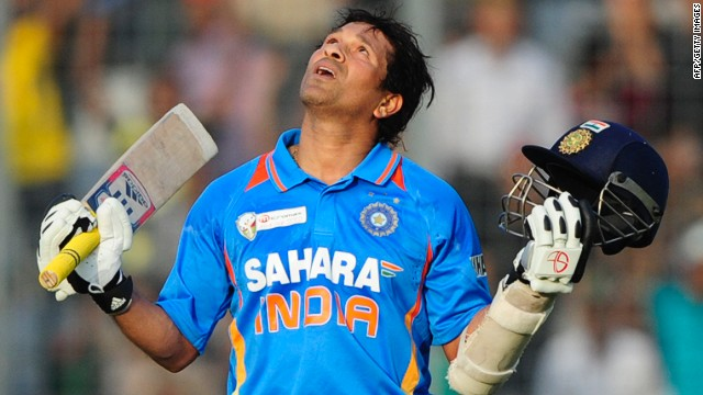Sachin Tendulkar makes cricket history