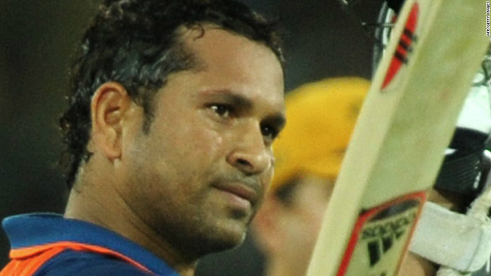 Tendulkar became the first batsman to score 17,000 runs in one-day internationals with a knock of 175 against Australia in Hyderabad on November 5, 2009.