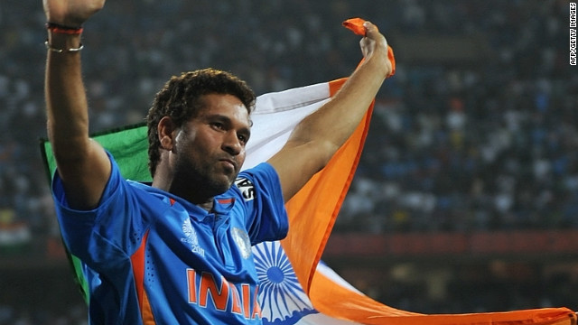 Sachin Tendulkar makes cricket history