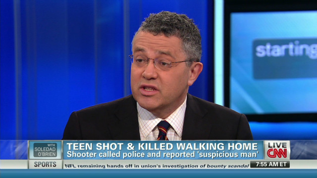 Toobin: Martin shooting 'appalling' case