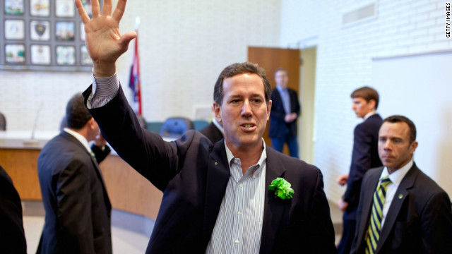 Santorum on Romney and health care