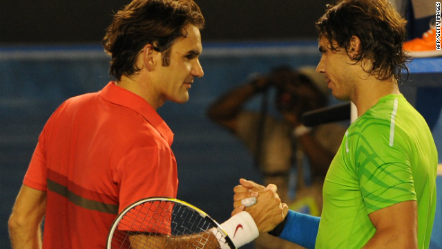 Rafael Nadal beat Roger Federer in their most recent encounter, the semifinals of the Australian Open in January.