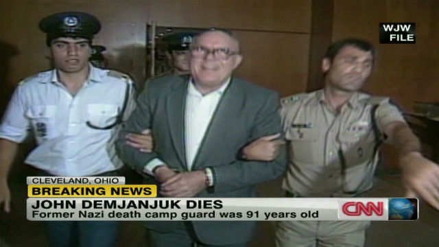 2012: Ex-Nazi death camp guard dies