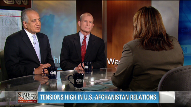 Tensions between U.S. and Afghanistan