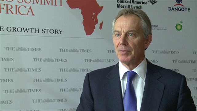 Tony Blair looks at Africa's future.
