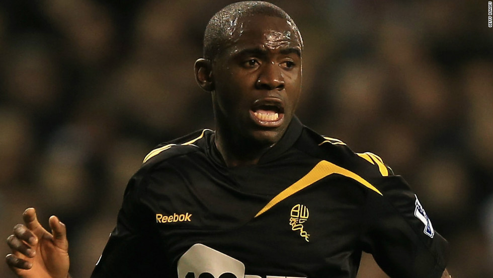Fabrice Muamba collapsed during an English soccer match between his club Bolton and Tottenham on Saturday, and is in the intensive care unit of a London heart hospital.