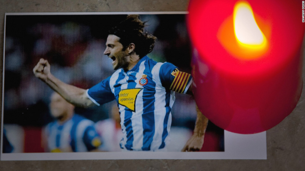 Spanish football has been hit by two such tragedies in recent times. In August 2009, Espanyol skipper Daniel Jarque died after suffering a heart attack while at a preseason training camp in Italy.