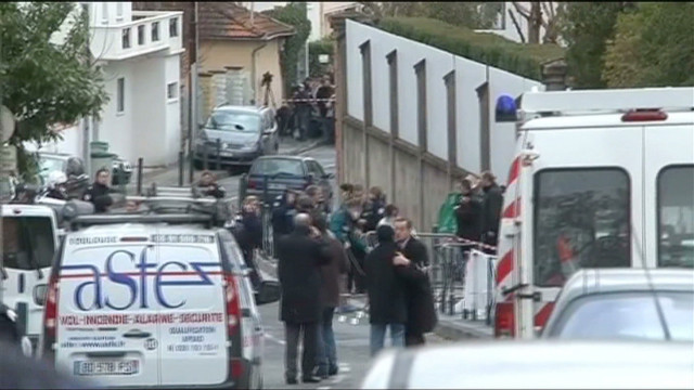 Terror investigation under way in France