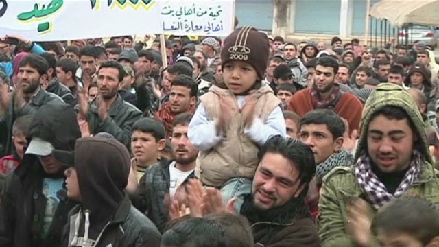 Syrians fighting for their children