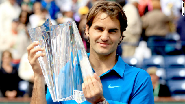 Federer wins at Indian Wells