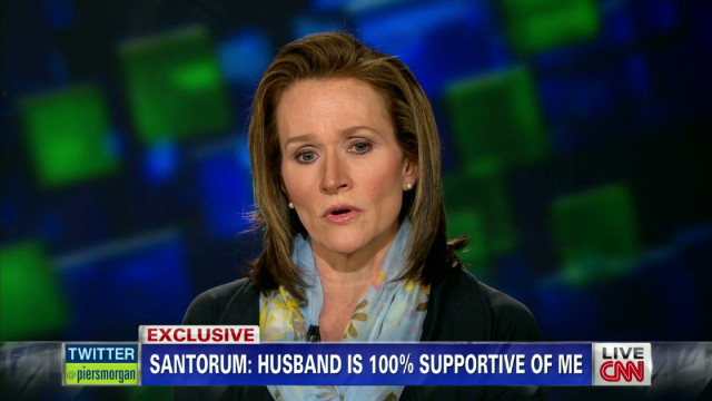 Karen Santorum on contraception