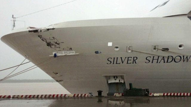 Cruise liner in collision off Vietnam