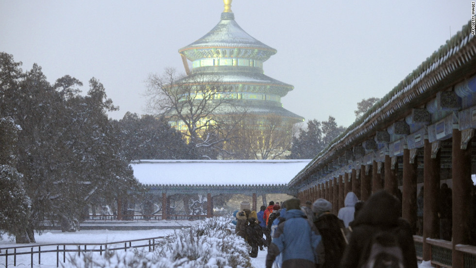 Though it is growing and changing all the time, Beijing's imperial history is still visible today. Sacrifices were made at the Temple of Heaven -- now a UNESCO World Heritage Site -- for almost 500 years, until the practice was banned at the beginning of the 20th century.