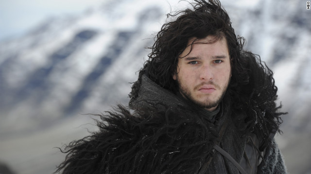"Kit Harington stars as Jon Snow in HBO's ""Game of Thrones."""